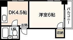 メゾンK&Y[1階]の間取り