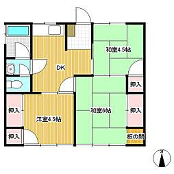 [一戸建] 長野県長野市大字柳原 の賃貸【/】の間取り