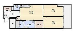 我楽ハウス[1階]の間取り