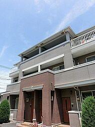 神奈川県茅ヶ崎市円蔵の賃貸アパートの外観