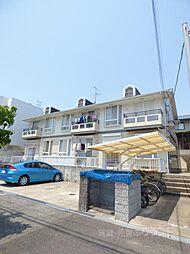 大阪府富田林市津々山台5丁目の賃貸アパートの外観