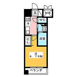 プライムアーバン鶴舞[3階]の間取り