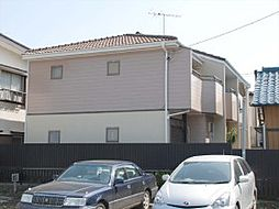 千葉県松戸市五香の賃貸アパートの外観