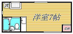 ファミール上の宮A棟[1階]の間取り