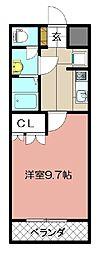 エル プランドール[102号室]の間取り