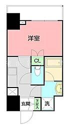 GRANDREVE横濱II[2階]の間取り