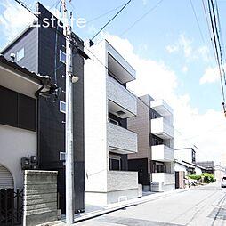 愛知県名古屋市中川区花池町3丁目の賃貸アパートの外観