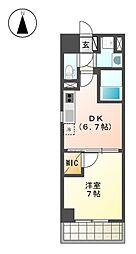 MX-I[10階]の間取り