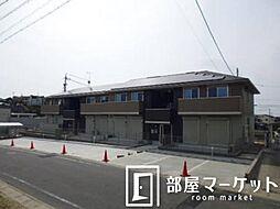 愛知県みよし市天王台の賃貸アパートの外観
