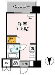 ベルハウス[4階]の間取り