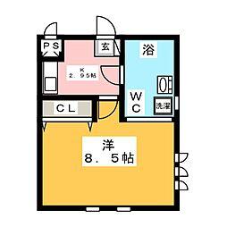 dot竹生[1階]の間取り