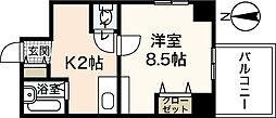 パシフィカ紙屋町ビル[5階]の間取り