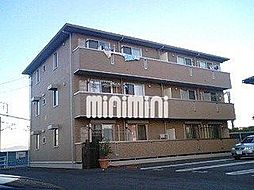 愛知県豊橋市山田一番町の賃貸アパートの外観