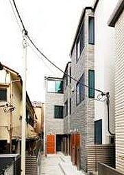 東京都新宿区富久町の賃貸アパートの外観