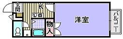 プレジール助松[103号室]の間取り