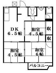 アーバンヒカリ[2階]の間取り