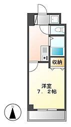 マーベラス新栄[5階]の間取り