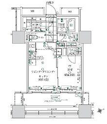 都営浅草線 大門駅 徒歩14分の賃貸マンション 2階1SLDKの間取り