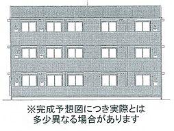 アスターエイト A棟[2階]の外観