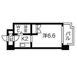 あおばビルN25[3階]の間取り