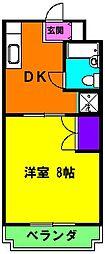 静岡県浜松市東区笠井新田町の賃貸マンションの間取り