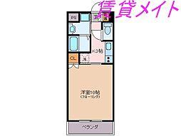 フォーブル鈴木II[1階]の間取り
