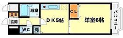 ノルデンハイム東三国 B棟[1階]の間取り