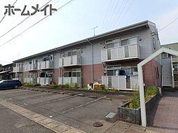 岐阜県美濃加茂市大手町2丁目の賃貸アパートの外観