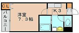 リブレア吉塚南[2階]の間取り