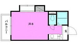 宮西マンション[401 号室号室]の間取り
