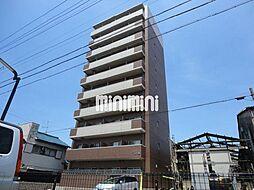 愛知県名古屋市中川区大畑町2の賃貸マンションの外観