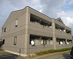 栃木県下野市花の木3丁目の賃貸アパートの外観