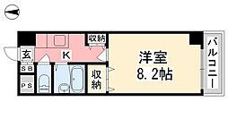 ジョイフル第5中村[212号室]の間取り