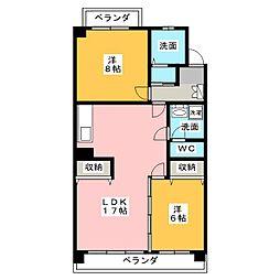 宮竹ビル B棟[2階]の間取り