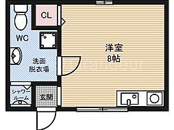 井上荘[2階]の間取り