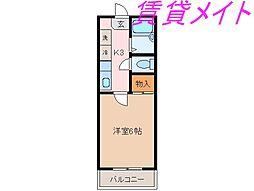 メゾンユートピア[2階]の間取り