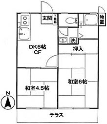 東伏見駅 7.5万円