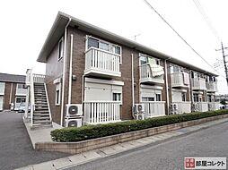 群馬県高崎市和田多中町の賃貸アパートの外観