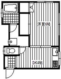コタケビル[4階]の間取り