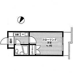 エルスタンザ相模大野[1階]の間取り