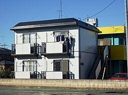 埼玉県朝霞市岡1丁目の賃貸アパートの外観