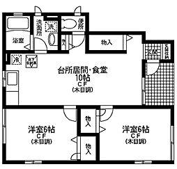 神奈川県川崎市宮前区平6丁目の賃貸アパートの間取り