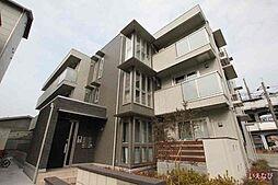 広島県福山市南本庄2丁目の賃貸アパートの外観