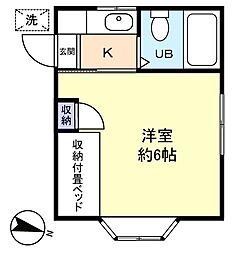 ハイムQ[2階]の間取り