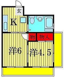 イマイマンション[2階]の間取り