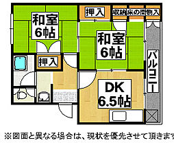 第一安岡マンション[3階]の間取り