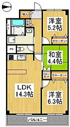 ReMINE[4階]の間取り