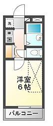 リライフ船橋松が丘[2階]の間取り