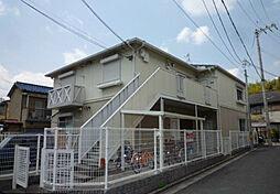 大阪府高槻市別所本町の賃貸アパートの外観