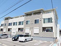 愛知県岡崎市北野町字南山の賃貸アパートの外観